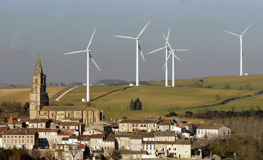 clocher éoliennes