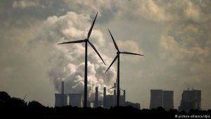 éoliennes et combustibles fossiles